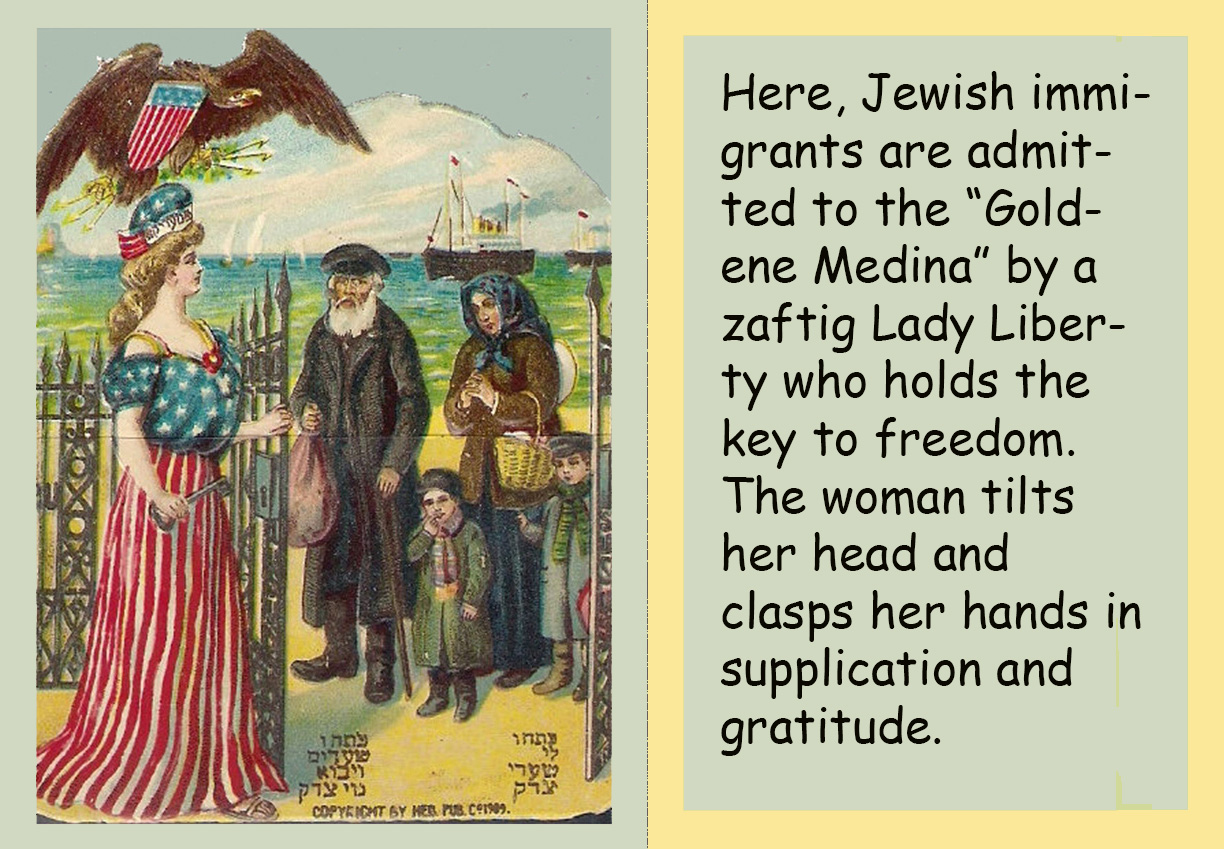 Holiday Greeting Cards Circa 1900 Yiddishkeit Central